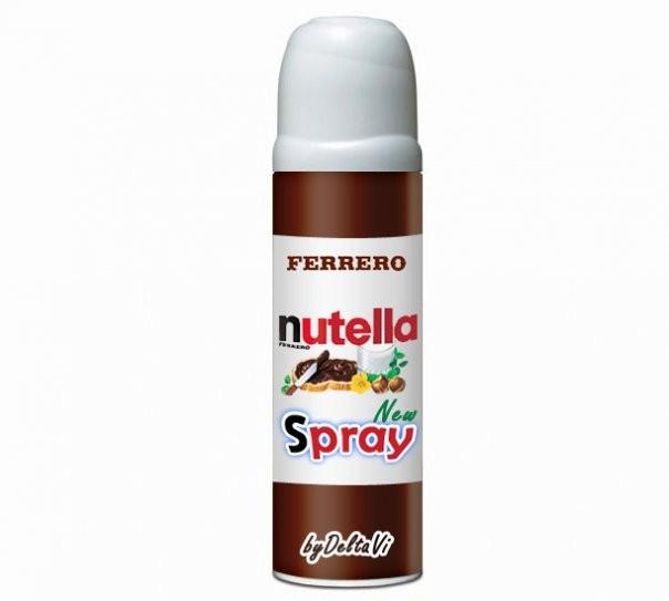 NUTELLA SPRAY Vogliamo La Nutella Spray