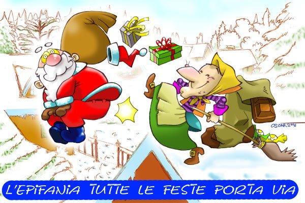 L Epifania Tutte Le Feste Porta Via