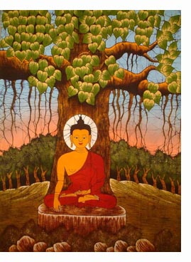 Buddha under Tree