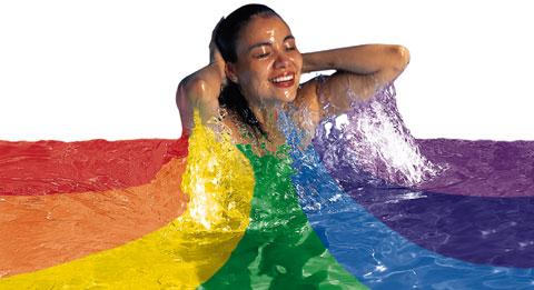 Il sorriso e l 39 allegria - Bagno di colore ...