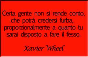 Aforisma Xavier Wheel