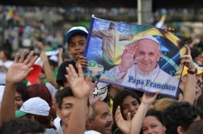 papa francesco rio Brasile