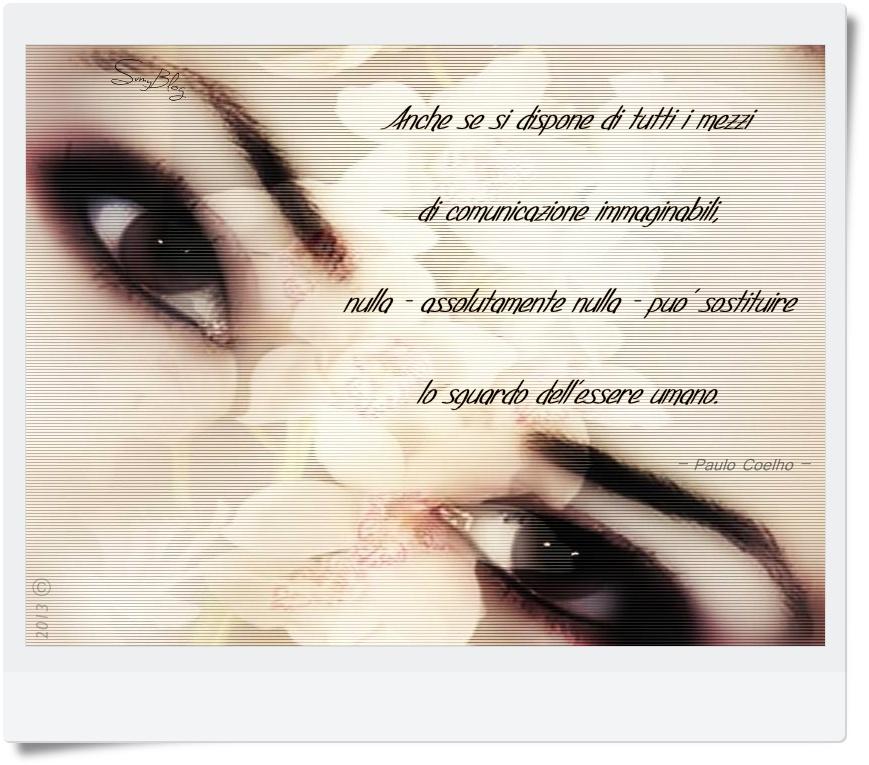 frasi d'amore sugli sguardi