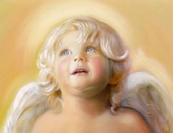 occhi angelo