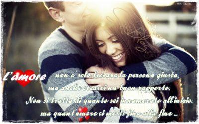 Amore fino alla fine ...