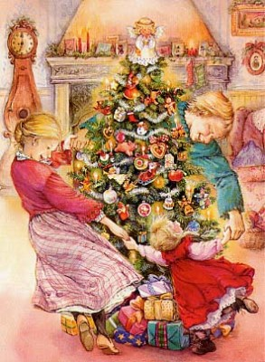 Albero di Natale amici