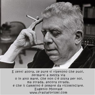 Eugenio Montale citazioni famose