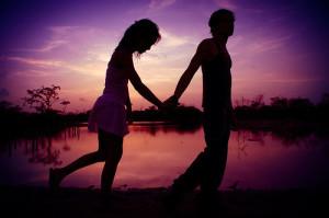amore al tramonto