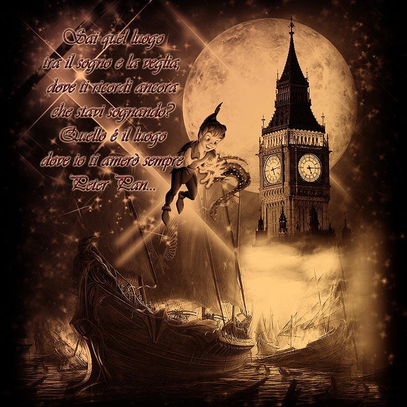 Nel Momento Stesso In Cui Dubitate Di Poter Volare Peter Pan
