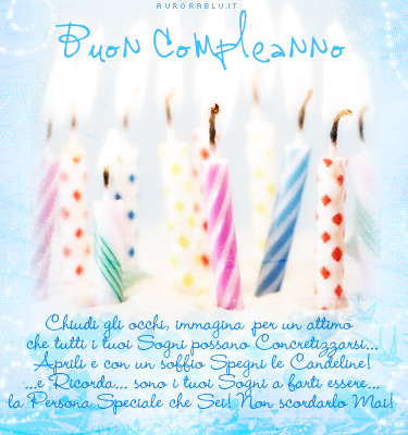 Dediche Compleanno Dedica Lunga Auguri Di Buon Compleanno