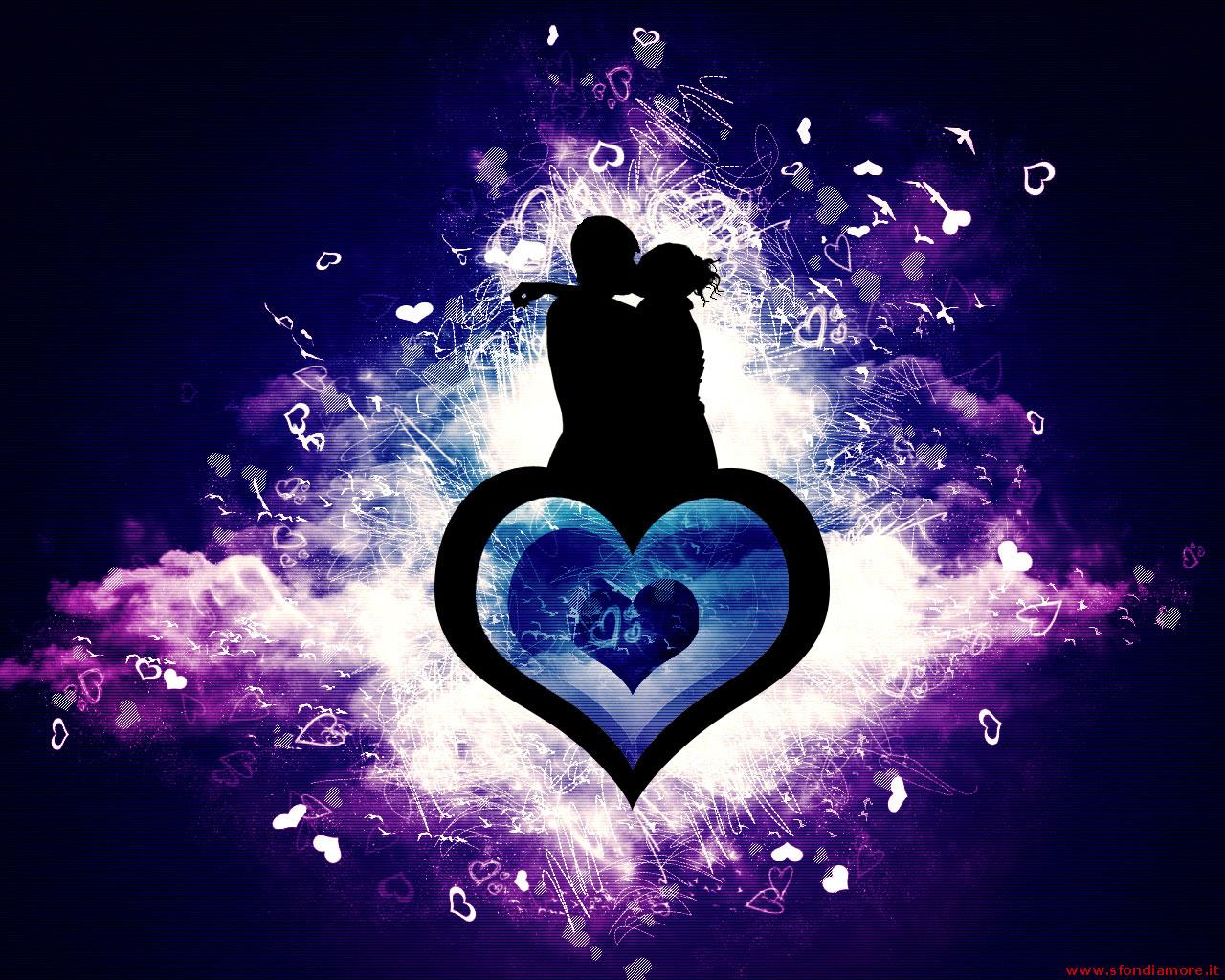 Download Hd Wallpaper Of Love Couple With Quotes Hd: Sfondi-romantici * Frasi E Aforismi Straordinari