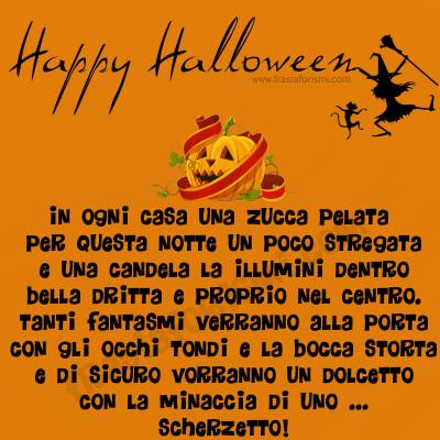 frasi buongiorno halloween