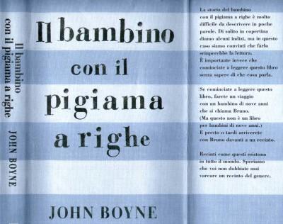 Il Bambino Con Il Pigiama A Righe John Boyne