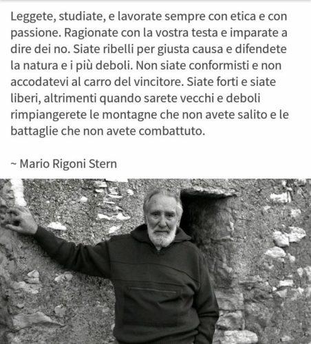 Mario Rigoni Stern frasi
